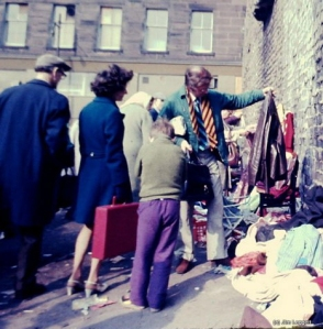 Bargain finds at Paddy's Market 1970 - (Photo copyright Jim Leggett - International Press Service)