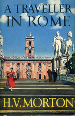 "The cover of ""A Traveller in Rome"""